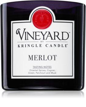 Kringle Candle Vineyard Merlot vonná sviečka