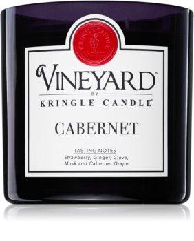 Kringle Candle Vineyard Cabernet candela profumata