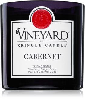 Kringle Candle Vineyard Cabernet scented candle