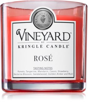 Kringle Candle Vineyard Rosé scented candle