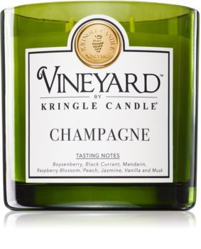 Kringle Candle Vineyard Sparkling Wine scented candle