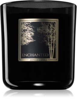 Kringle Candle Black Line Enchanted scented candle