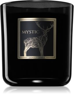 Kringle Candle Black Line Mystic scented candle