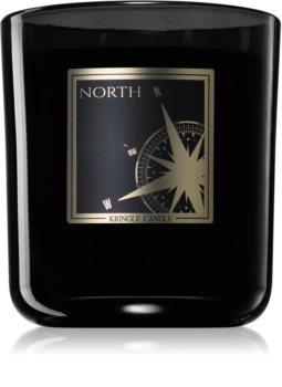 Kringle Candle Black Line North mirisna svijeća