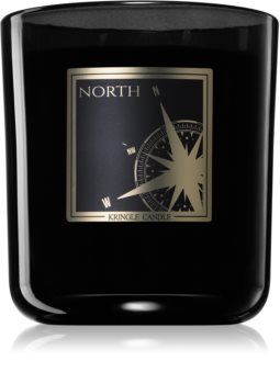 Kringle Candle Black Line North scented candle