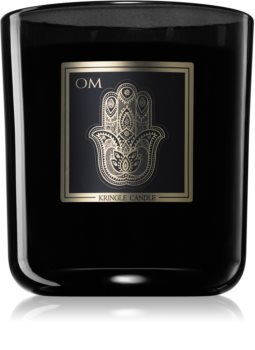 Kringle Candle Black Line Om scented candle