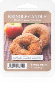 Kringle Candle Apple Cider Donut vaxsmältning