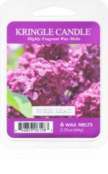 Kringle Candle Fresh Lilac cera para lámparas aromáticas