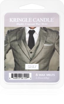 Kringle Candle Grey wachs für aromalampen