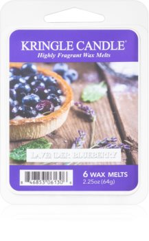 Kringle Candle Lavender Blueberry wax melt