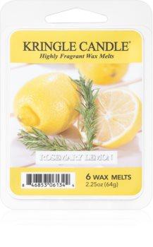 Kringle Candle Rosemary Lemon illatos viasz aromalámpába