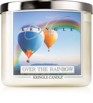 Kringle Candle Over the Rainbow scented candle I.