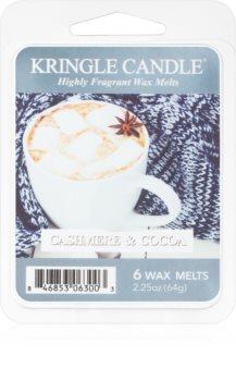 Kringle Candle Cashmere & Cocoa cera per lampada aromatica