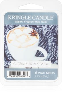 Kringle Candle Cashmere & Cocoa duftwachs für aromalampe