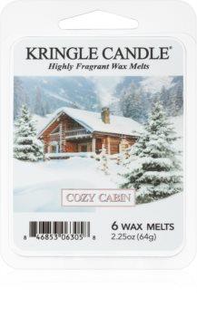 Kringle Candle Cozy Cabin illatos viasz aromalámpába