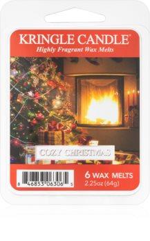 Kringle Candle Cozy Christmas восък за арома-лампа