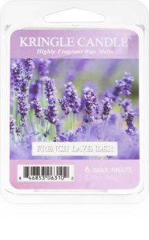 Kringle Candle French Lavender cera para lámparas aromáticas