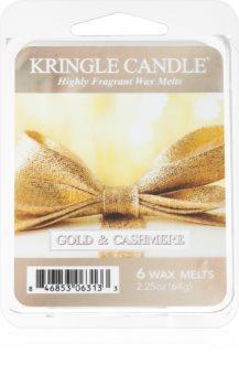 Kringle Candle Gold & Cashmere cera para lámparas aromáticas