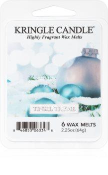 Kringle Candle Tinsel Thyme cera per lampada aromatica