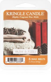 Kringle Candle Warm & Fuzzy vaxsmältning