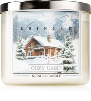 Kringle Candle Cozy Cabin bougie parfumée II.