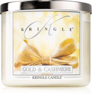 Kringle Candle Gold & Cashmere illatos gyertya  I.