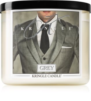 Kringle Candle Grey bougie parfumée I.