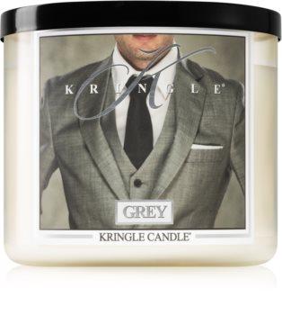 Kringle Candle Grey Tuoksukynttilä I.