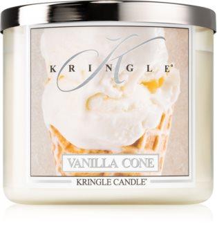 Kringle Candle Vanilla Cone bougie parfumée I.