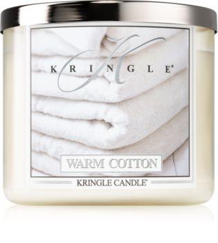 Kringle Candle Warm Cotton illatos gyertya  I.