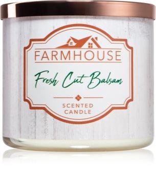 Kringle Candle Farmhouse Fresh Cut Balsam aроматична свічка