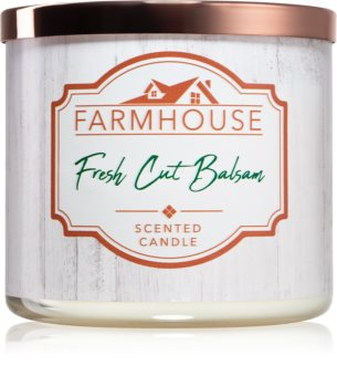 Kringle Candle Farmhouse Fresh Cut Balsam scented candle