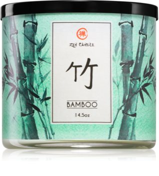 Kringle Candle Zen Bamboo scented candle