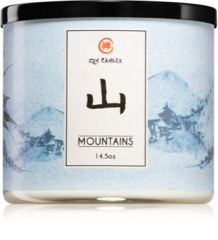 Kringle Candle Zen Mountains illatos gyertya
