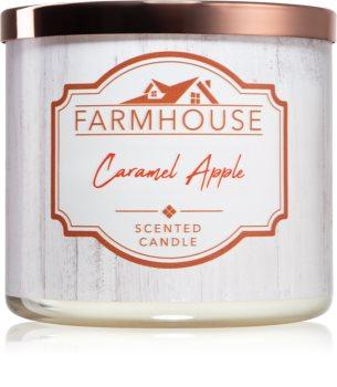 Kringle Candle Farmhouse Caramel Apple Ljus