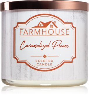 Kringle Candle Farmhouse Caramelized Pecans svíčka