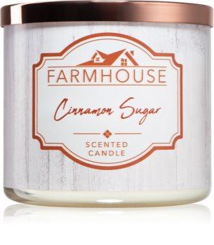 Kringle Candle Farmhouse Cinnamon Sugar illatos gyertya