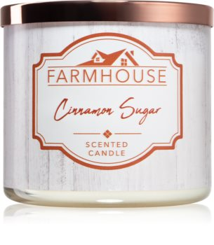 Kringle Candle Farmhouse Cinnamon Sugar vonná sviečka