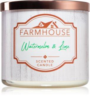 Kringle Candle Farmhouse Watermelon & Lime lumânare parfumată