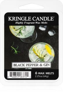 Kringle Candle Black Pepper & Gin ceară pentru aromatizator