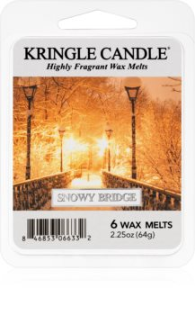 Kringle Candle Snowy Bridge восък за арома-лампа