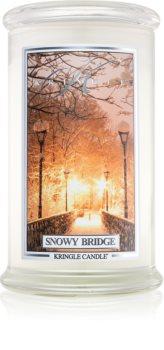 Kringle Candle Snowy Bridge mirisna svijeća