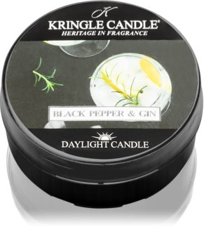 Kringle Candle Black Pepper & Gin tealight candle