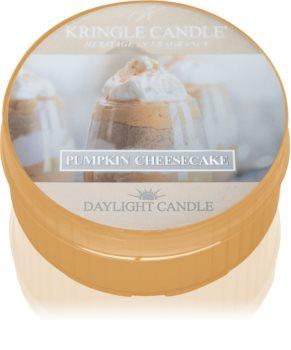 Kringle Candle Pumpkin Cheescake tealight candle