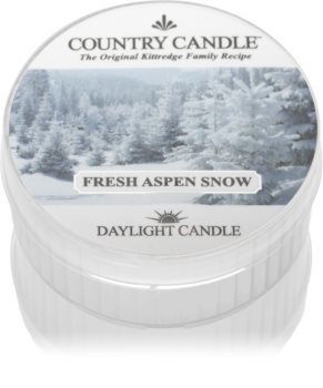 Country Candle Fresh Aspen Snow tealight candle