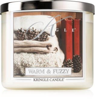 Kringle Candle Warm & Fuzzy bougie parfumée I.