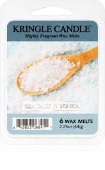 Kringle Candle Sea Salt & Tonka wosk zapachowy