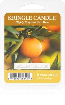 Kringle Candle Sicilian Orange ceară pentru aromatizator