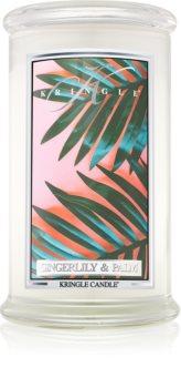 Kringle Candle Gingerlily & Palm dišeča sveča