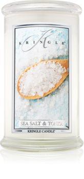 Kringle Candle Sea Salt & Tonka dišeča sveča